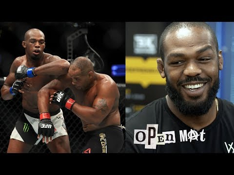 Jon Jones sees 'at least three more' fights at 205 before moving up to heavyweight