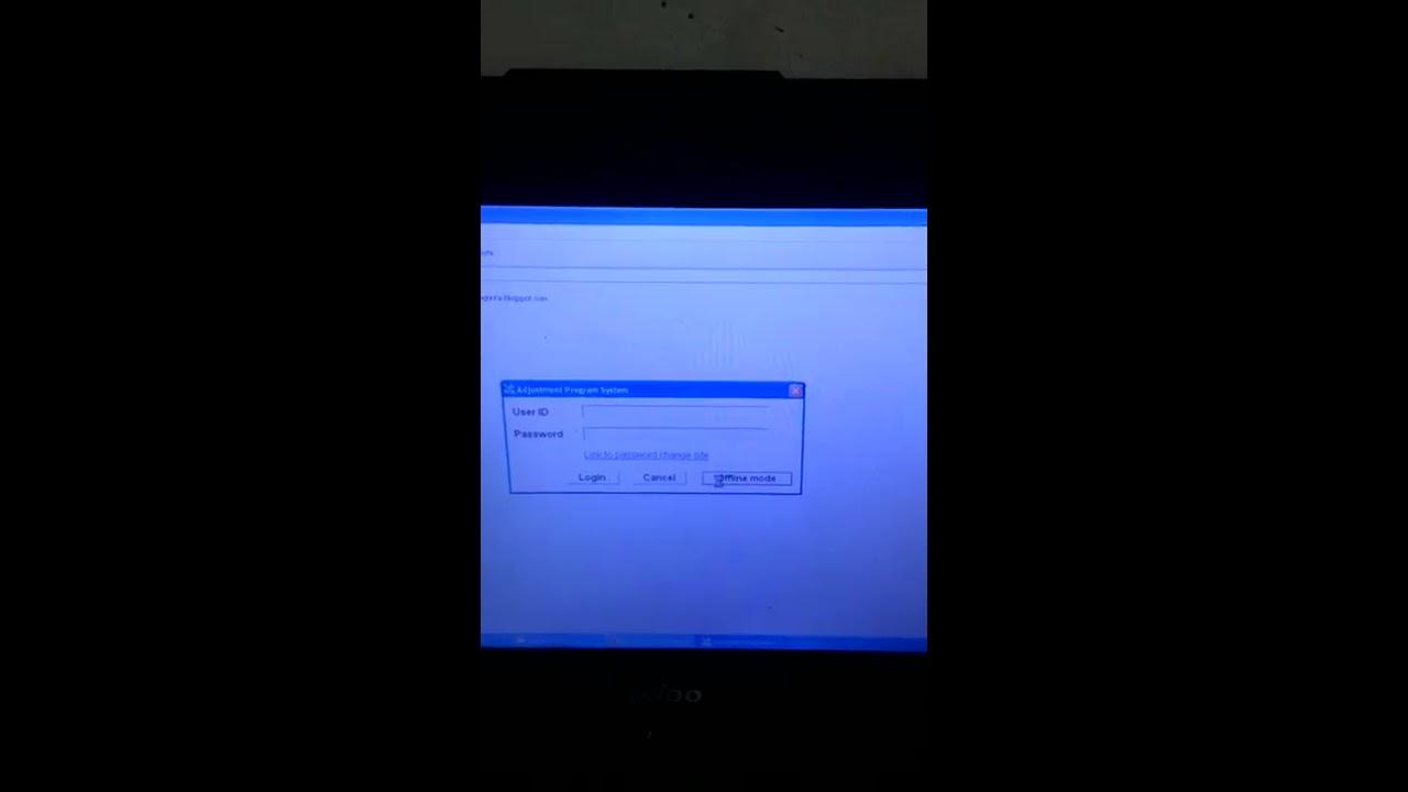 Cara Memperbaiki Printer Epson L210 Eror Lampu Kedip Kedip Servis