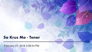 Sa Krus Mo - Tenor