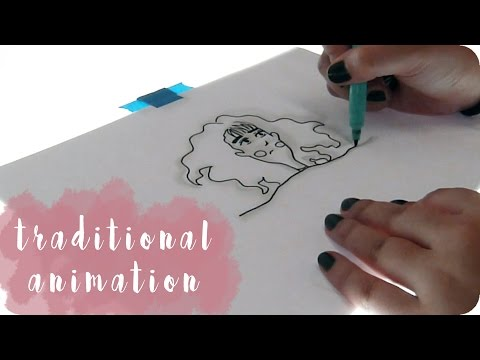 Traditional Animation // Animating on Paper