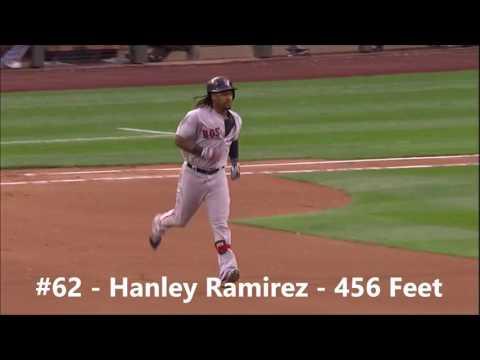MLB | Top 100 Longest Home Runs of 2016