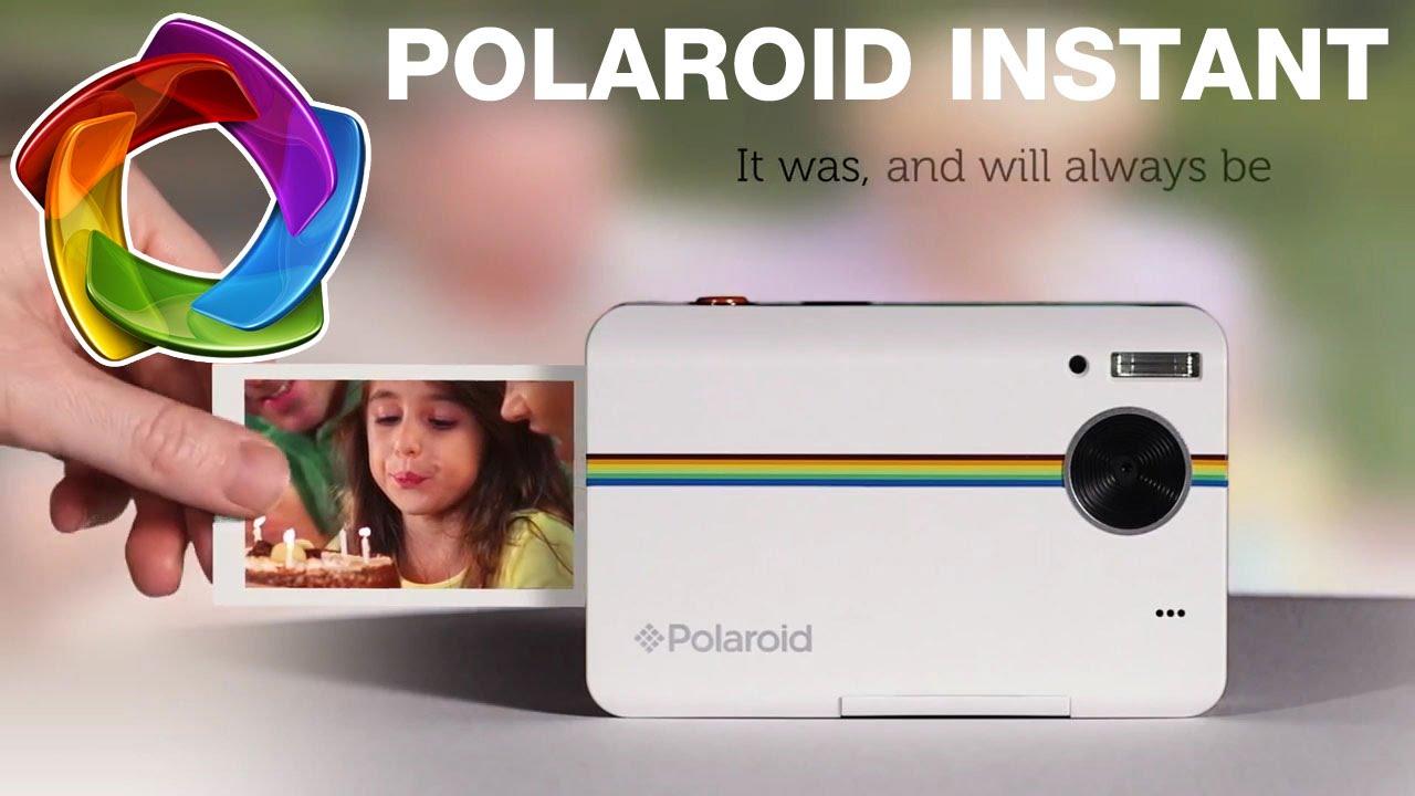 4ab509e49a92a Polaroid Instant - Câmera Instantânea - Loja da Fotografia - YouTube