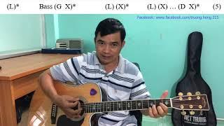GUITAR BOLERO BÀI 153: INTRO BOLERO TONE D RẤT HAY, ĐƠN GIẢN, DỄ TẬP