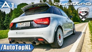 380HP Audi A1 Quattro 2.0 TFSI | 1 of 333 | LOUD! Exhaust SOUND ONBOARD & Revs by AutoTopNL