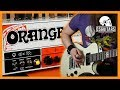 Orange Brent Hinds Terror | In The Style Of Brent Hinds