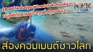 ส่องคอมเมนต์ชาวโลก-หลังเห็นการฟื้นฟูของธรรมชาติหลังการปิดอ่าวมาหยา ประเทศไทย