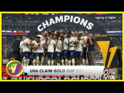 USA Claim Gold Cup Title | TVJ News - August 2 2021