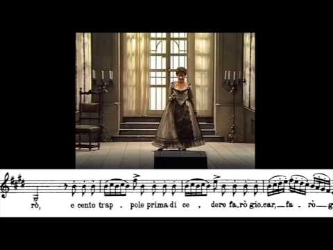 """Cecilia Bartoli: """"Una voce poco fa"""". G. Rossini"""