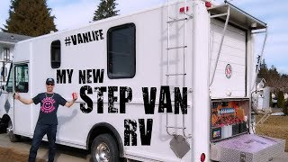 My new step van motorhome conversion project!