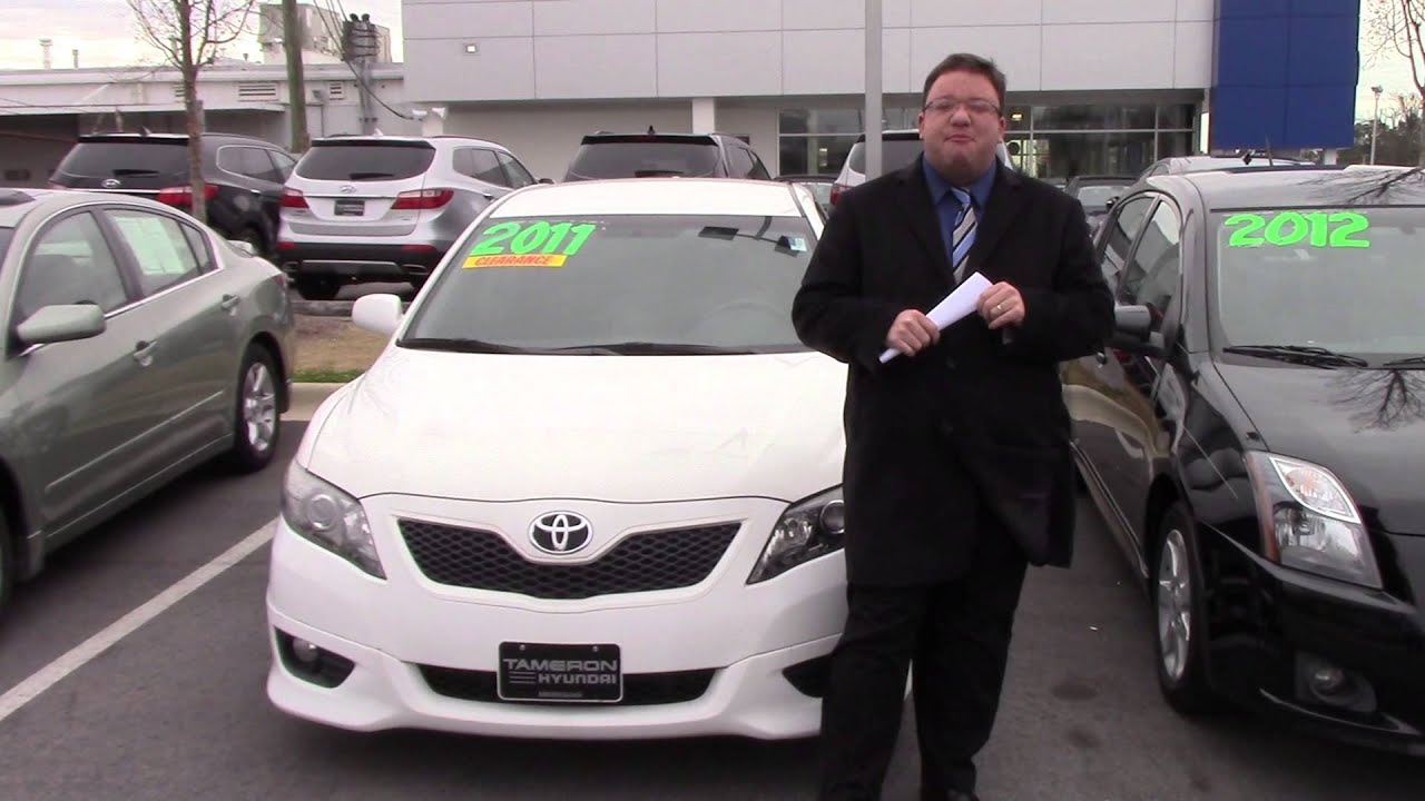 Hey Audrey, CHECK OUT THIS 2011 TOYOTA CAMRY FROM TAMERON HYUNDAI IN