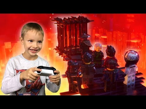 Niezdobyta Góra 9 Lego Ninjago Movie Gra Wideo Xbox One Adam Tv