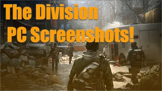 The Division Talk + 4k PC Screenshots!