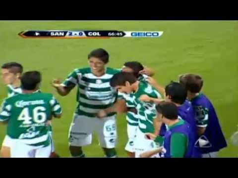 Santos vs Colorado Rapids 2-0 CONCACAF Liga de Campeones