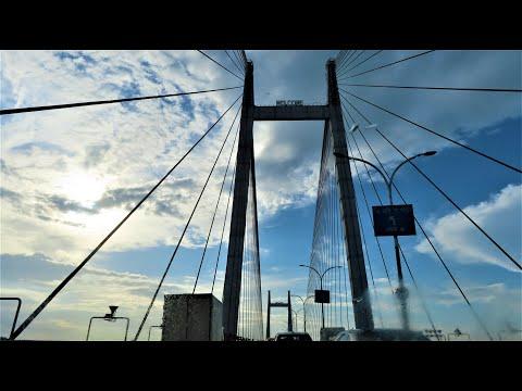 Longest Cable–Stayed Bridge In India - Second Hooghly Bridge or Vidyasagar Setu At Calcutta