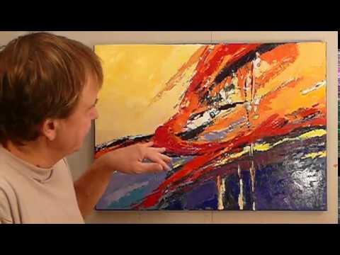 Jak Namalować Obraz Farbami Akrylowymi Abstrakcja 14 Cz 5