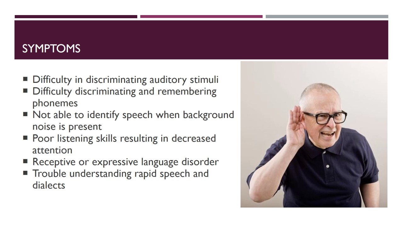 central auditory processing disorders capds in Central auditory processing disorder (capd) vs attention deficit hyperactivity disorder (adhd)  while it is true that often the two disorders do coexist,.