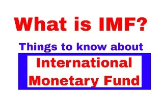 Some Facts about IMF(The International Monetary Fund) Banking Awareness [In Hindi] Part - 7