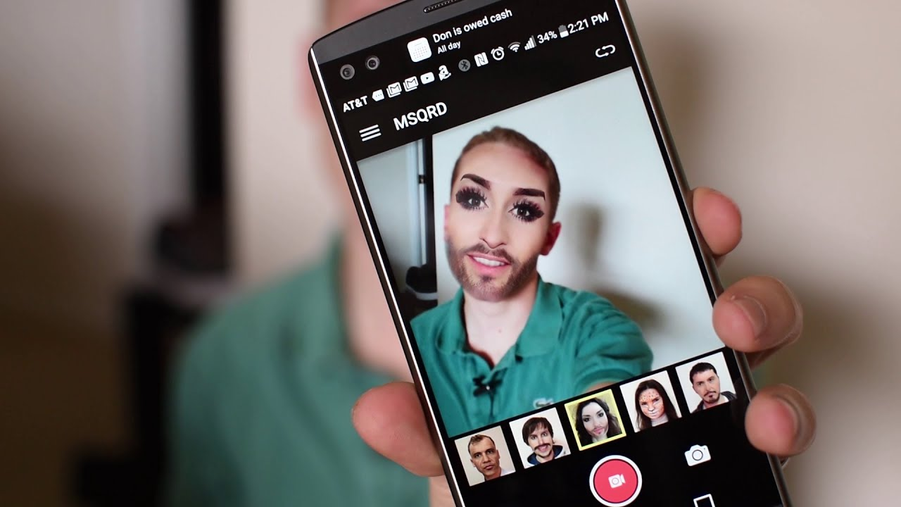 MSQRD for Android Released ! (Face Swap App)