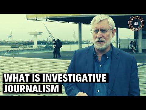 What Is Investigative Journalism? - David Kaplan