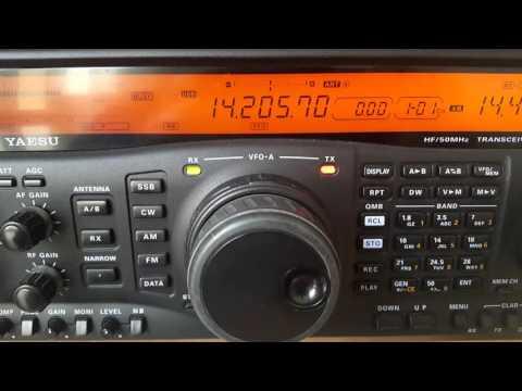 S57S CALLING CQ DX ON 20 METERS - AMATEUR - HAM RADIO