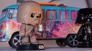 Darth Vader captures Chewbacca - Funko POP Movie