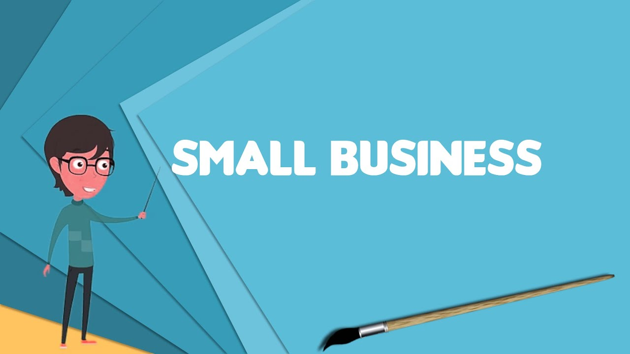 What is Small business? Explain Small business, Define Small business,  Meaning of Small business - YouTube