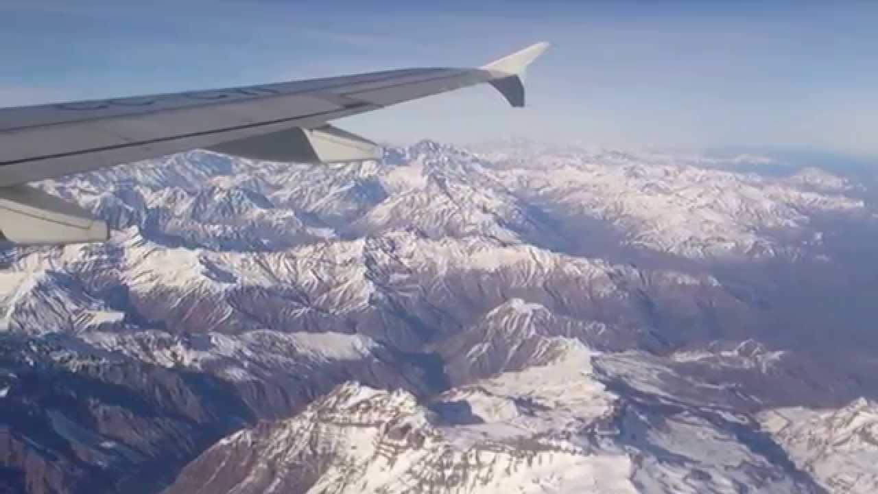 飛越安地斯山脈 - fly over Mt Andes - YouTube
