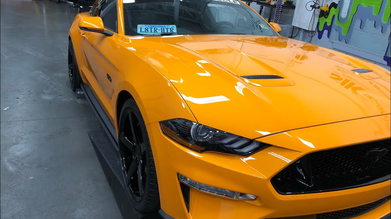3M Scotchgard Paint Protection Film Pro Series Clear 2018 2019 Ford Mustang GT