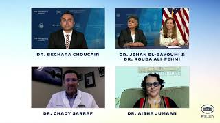 White House virtual conversation; Building vaccine confidence in the Arab American community. Part 1
