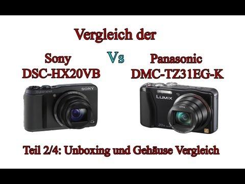 """Vergleich der """"Sony Cyber-shot DSC-HX20V"""" mit der """"Panasonic Lumix DMC-TZ31"""" -Teil 2/4-"""