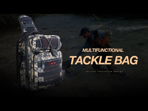 The BESTSELLING Fishing Tackle Bag Of 2019 On Amazon | Incredibly Inexpensive Versatile Sling Bag