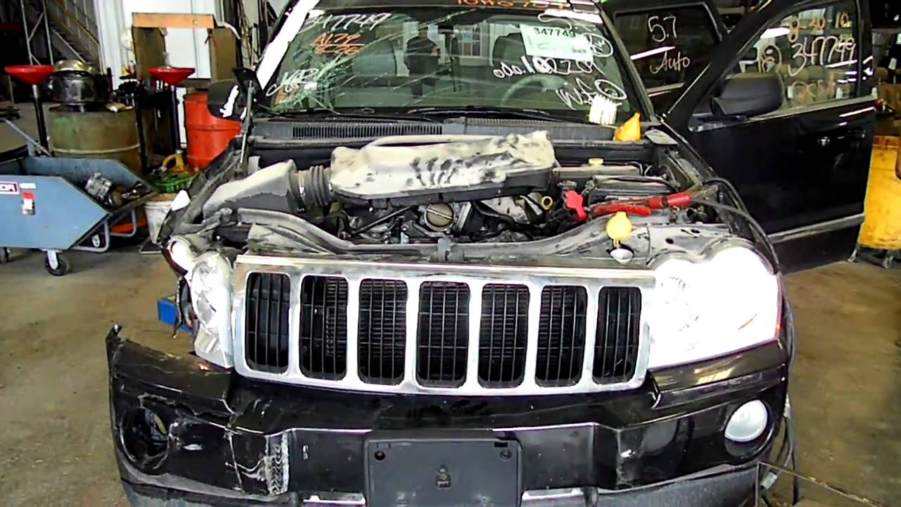 10h0707 2005 jeep grand cherokee 5 7 hemi youtube. Black Bedroom Furniture Sets. Home Design Ideas