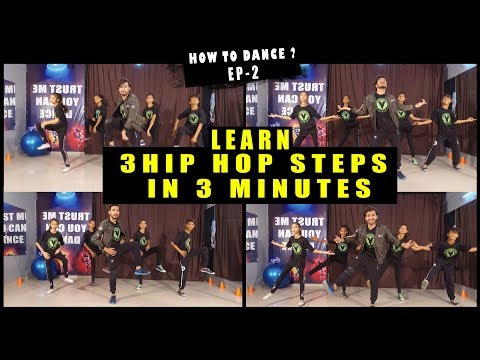 Learn 3 Cool Hip Hop Dance Moves/Steps  | HOW TO DANCE EP-2 | Beginners Class Vicky Patel Tutorial