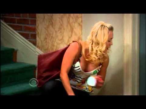 The Big Bang Theory - Penny, no puede abrir la puerta de su piso