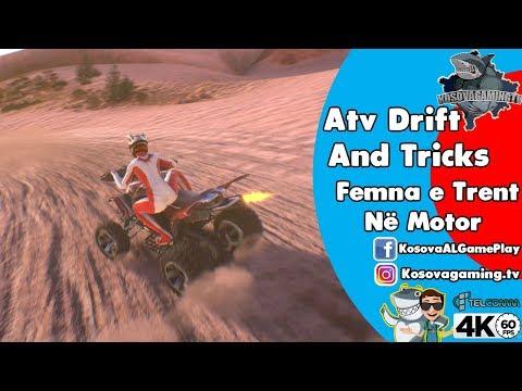 ATV DRIFT AND TRICKS  - SHQIP - Femna e Trent Ne Motor - Pjesa 2