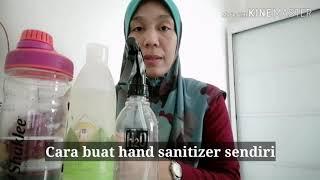 Cara buat hand sanitizer sendiri -