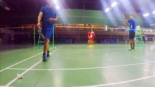 Unlimited Badminton Highlights/Funny Game, Cebu Metro Sport CLub.Must Watch!