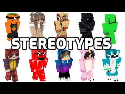 Minecraft Skin Stereotypes: Episode 1