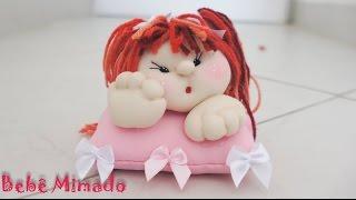 Como fazer bonecas de pano lindas – Parte 2 – Bebê Mimado
