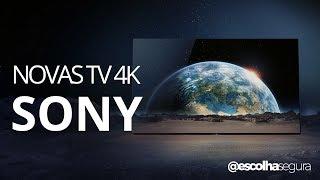 NOVAS TV 4K SONY: Explicação de todos os modelos para 2017!!
