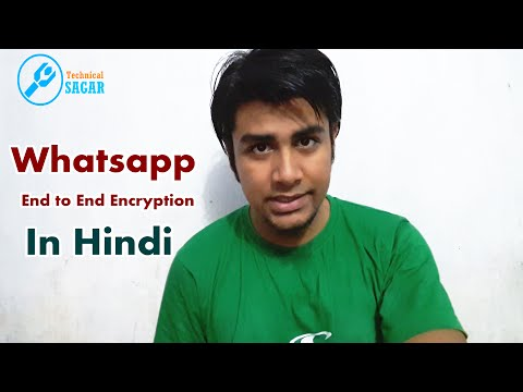 What is Whatsapp End to End Encryption ? (In Hindi)