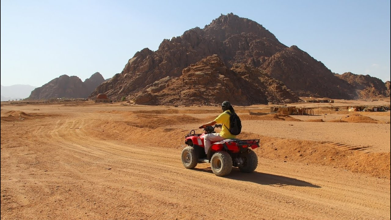 Quad Biking Safari, Sharm El Sheikh, Egypt - YouTube