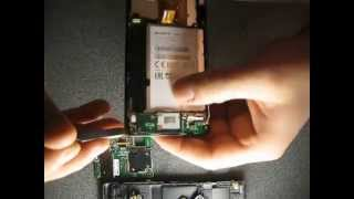 Ремонт Sony Xperia M C1905, Разборка и Сборка.