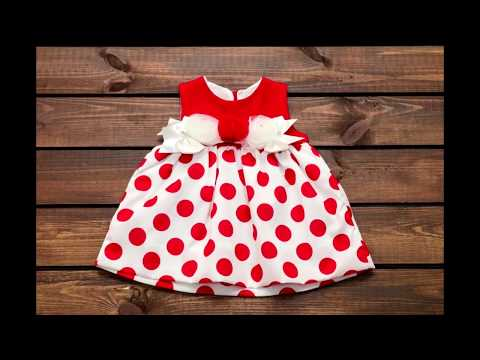 Красивые детские платья для девочек -  фото