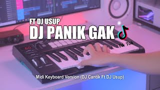 Download DJ Panik Gak Tik Tok Remix Terbaru 2021 (DJ Cantik Remix) Ft DJ USUP