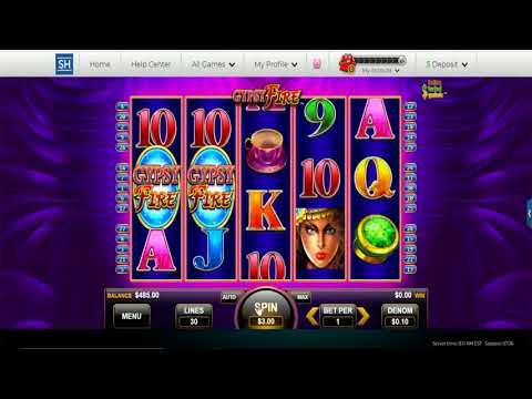 Gypsy Fire Online Slot Video Demo