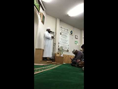 Jumma khutba @ Nagoya Port Masjid in Japan (02/12/2016)