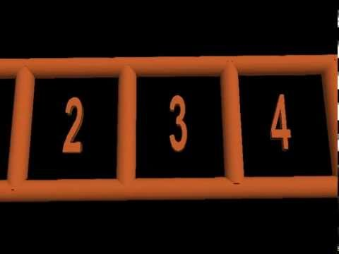 Visualising Imagining Seeing Numbers in your Mind's Eye