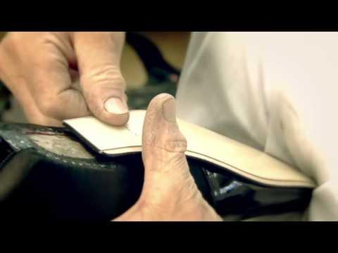 Cách làm 1 đôi giày hiệu của Louis Vuitton