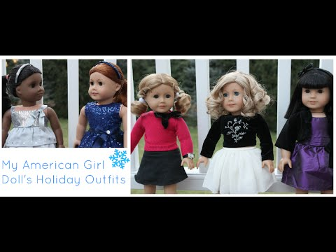 My AG Doll's Holiday Outfits | Jane Smith|
